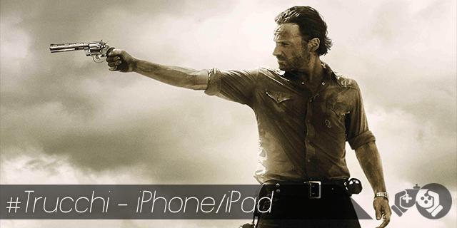 Walking Dead trucchi per iPhone e iPad tutti i pacchetti sbloccati