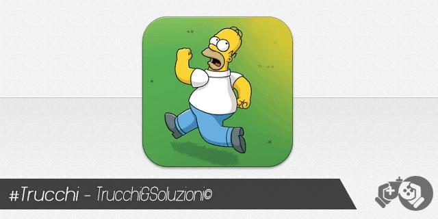 Trucchi I Simpson Springfield per iPhone e iPad