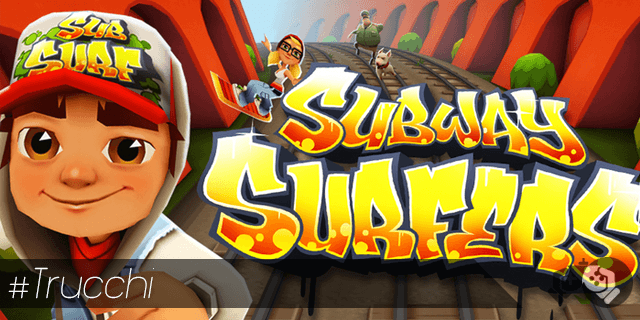 Trucchi Subway Surfers iPhone e iPad monete e chiavi illimitate