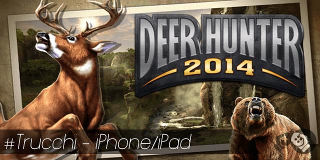 Deer Hunter trucchi per iPhone e iPad oro infinito