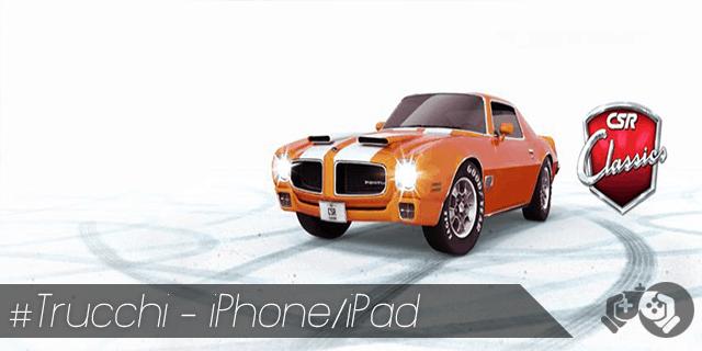 CSR Classic trucchi per iPhone e iPad oro e soldi illimitati