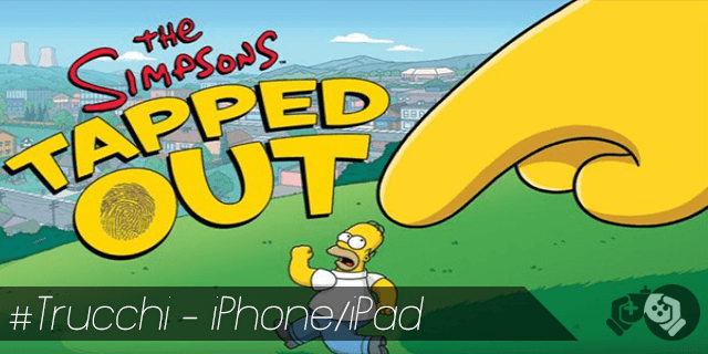Trucchi The Simpsons Tapped Out per iPhone e iPad ciambelle e soldi infiniti