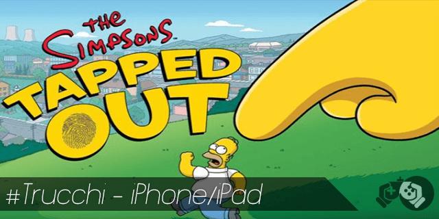 Trucchi The Simpsons Tapped Out per iPhone e iPad ciambelle e soldi infiniti