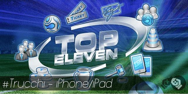 Top Eleven trucchi per iPhone e iPad condizione morale e fisica dei giocatori al massimo
