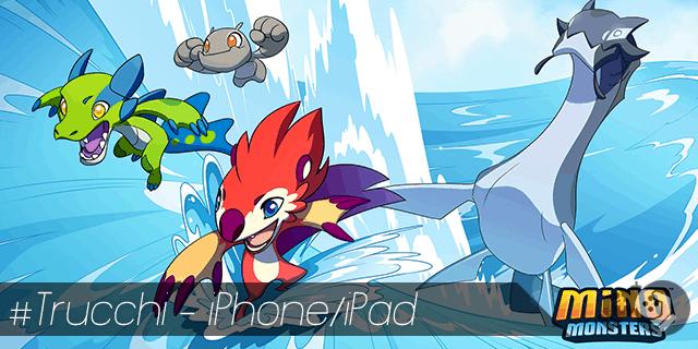 Trucchi Mino Monsters per iPhone e iPad soldi illimitati e mostri sbloccati