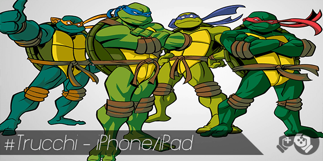 Trucchi Teenage Mutant Ninja Turtles Rooftop Run per iPhone e iPad monete infinite