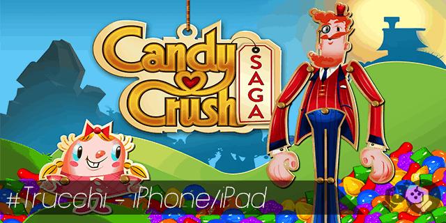Trucchi Candy Crush Saga per iPhone e iPad vite gratis