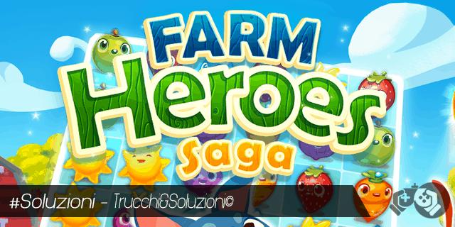 Soluzione Farm Heroes Saga Livello 91-105
