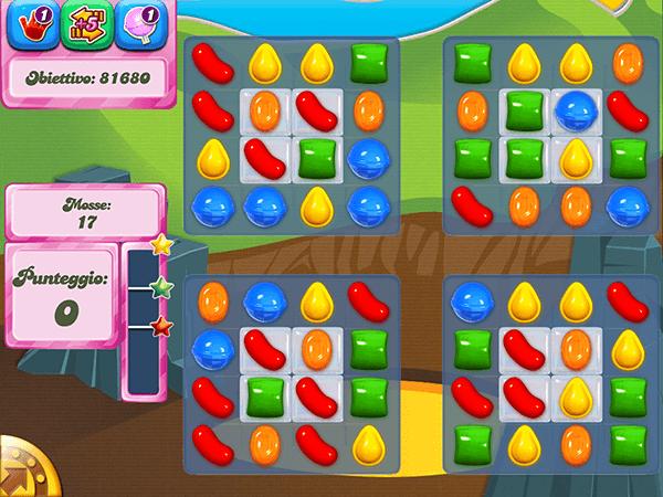 Soluzione Candy Crush livello 33