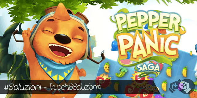 Pepper Panic Saga Soluzione Livello 121-135