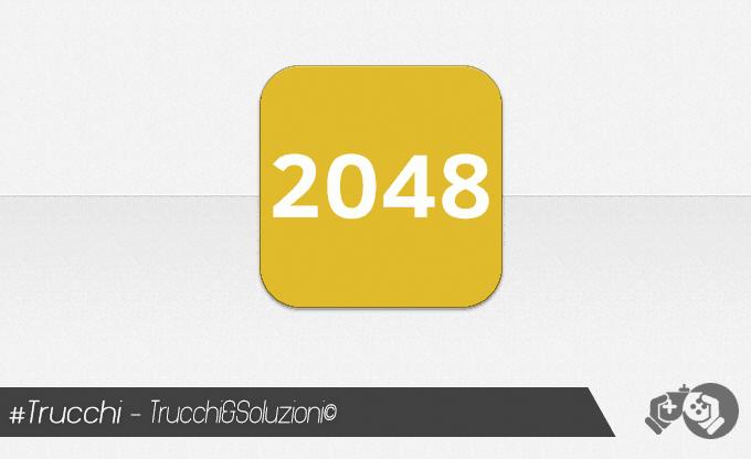 Trucchi 2048 iPhone e iPad