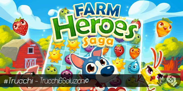 Trucchi Farm Heroes Saga per avere 3 stelle ai livelli