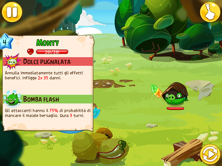 Angry Birds Epic Nemico