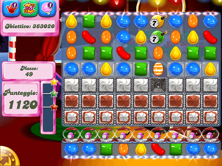 Candy Crush Caramelle a strisce