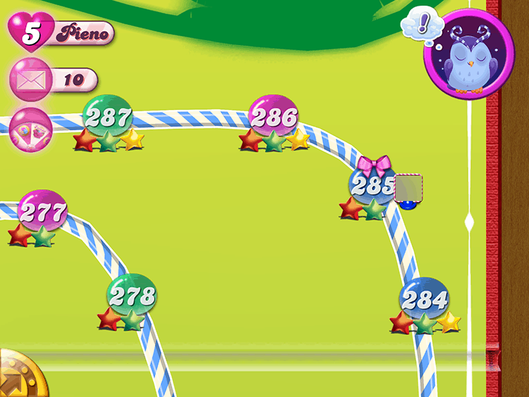 Candy Crush Fiocco Rosa