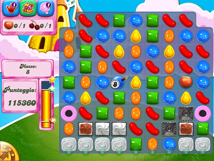 Candy Crush Ingredienti