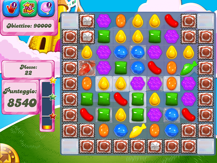 Candy Crush Pesce Gelatina