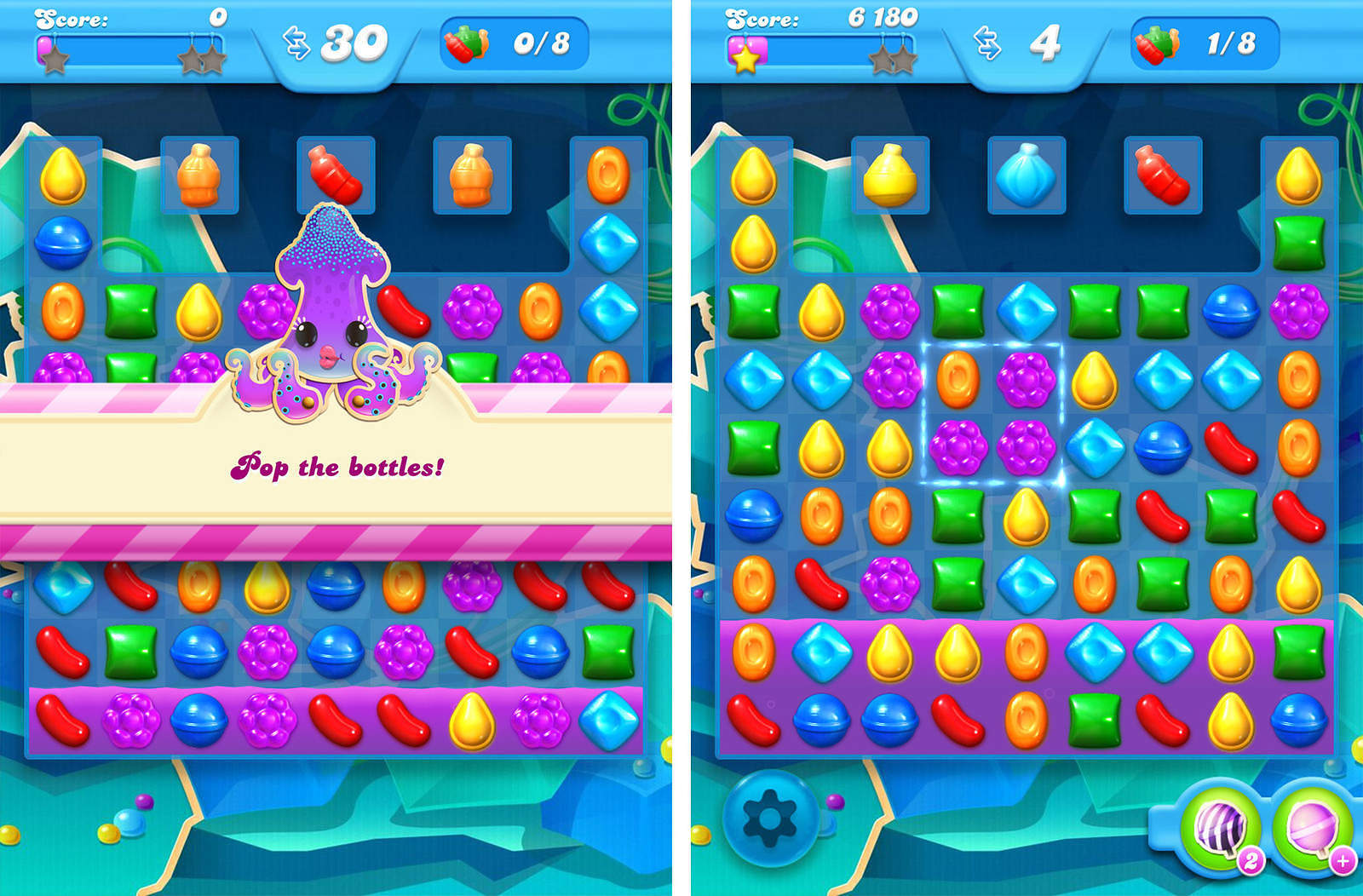 Candy Crush Soda Livello 52