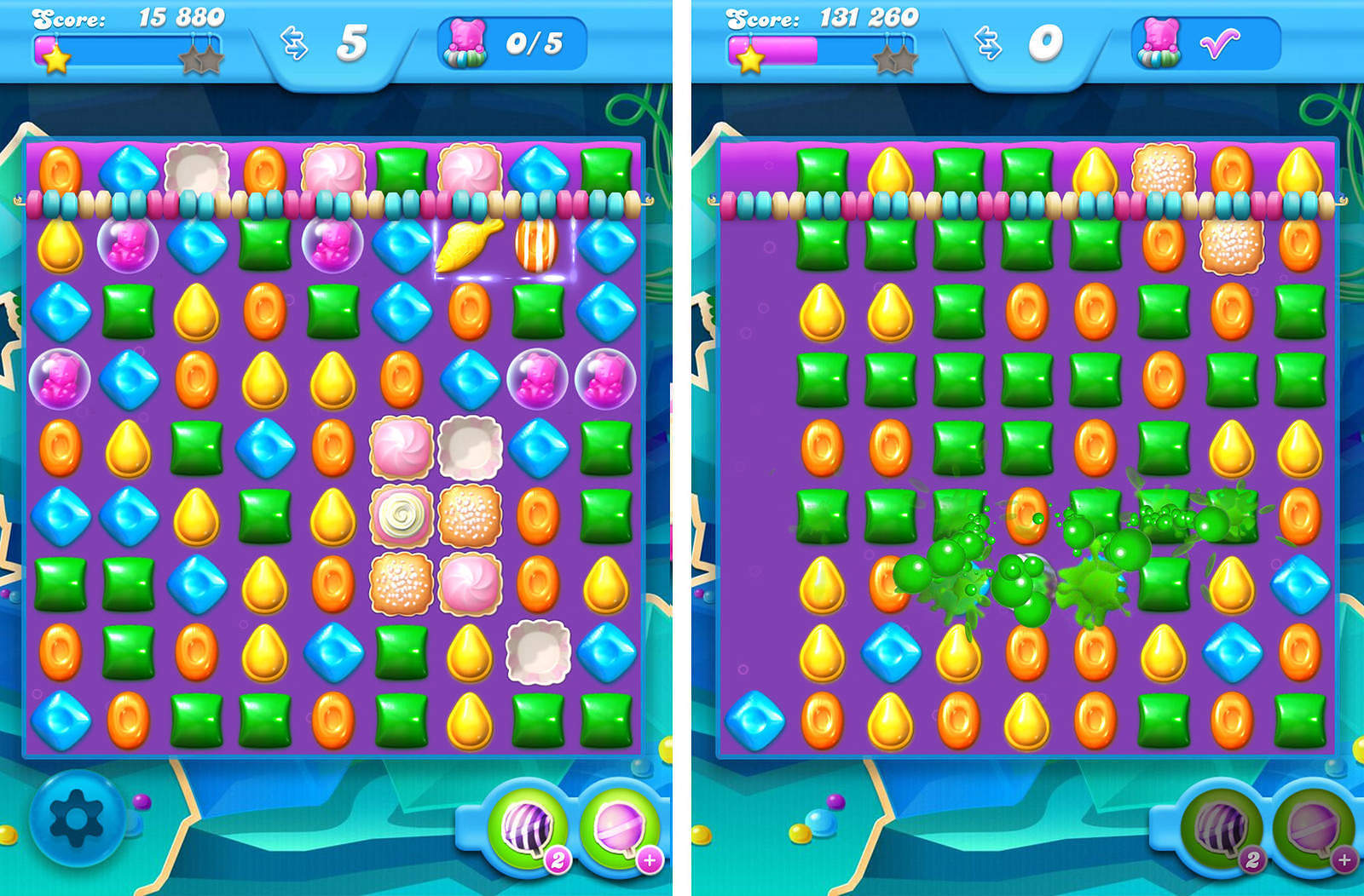 Candy Crush Soda Livello 60