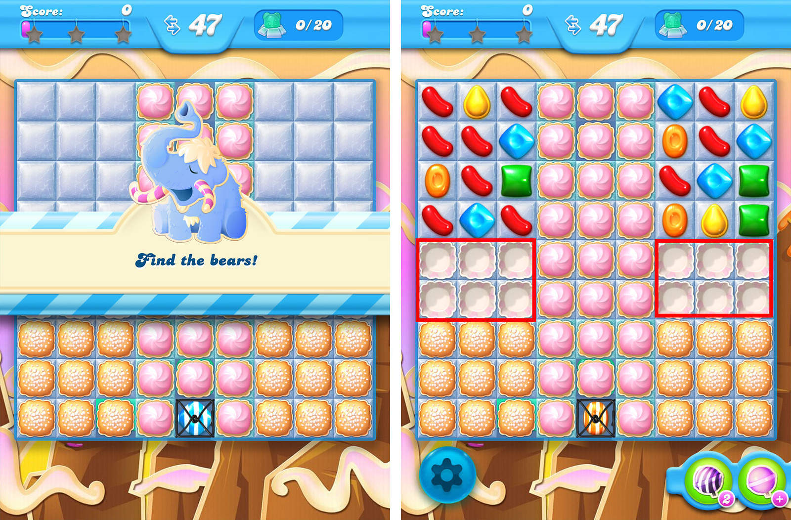 Candy Crush Soda Livello 70