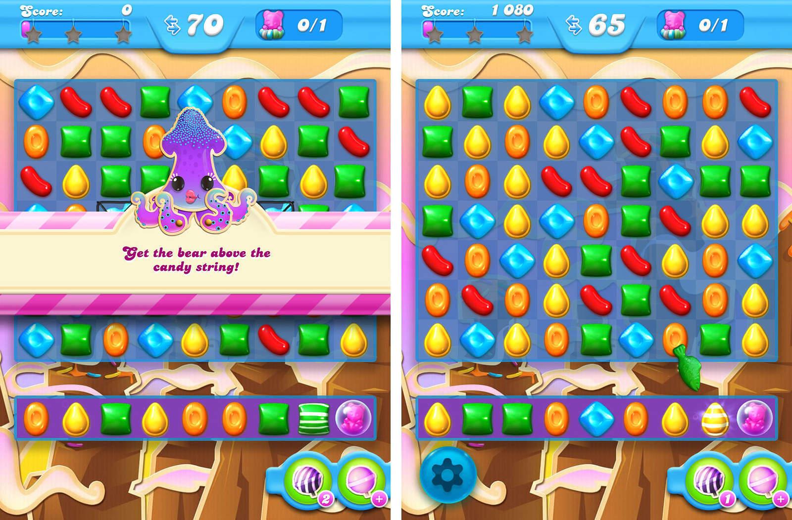 Candy Crush Soda Livello 72 Sezione 1