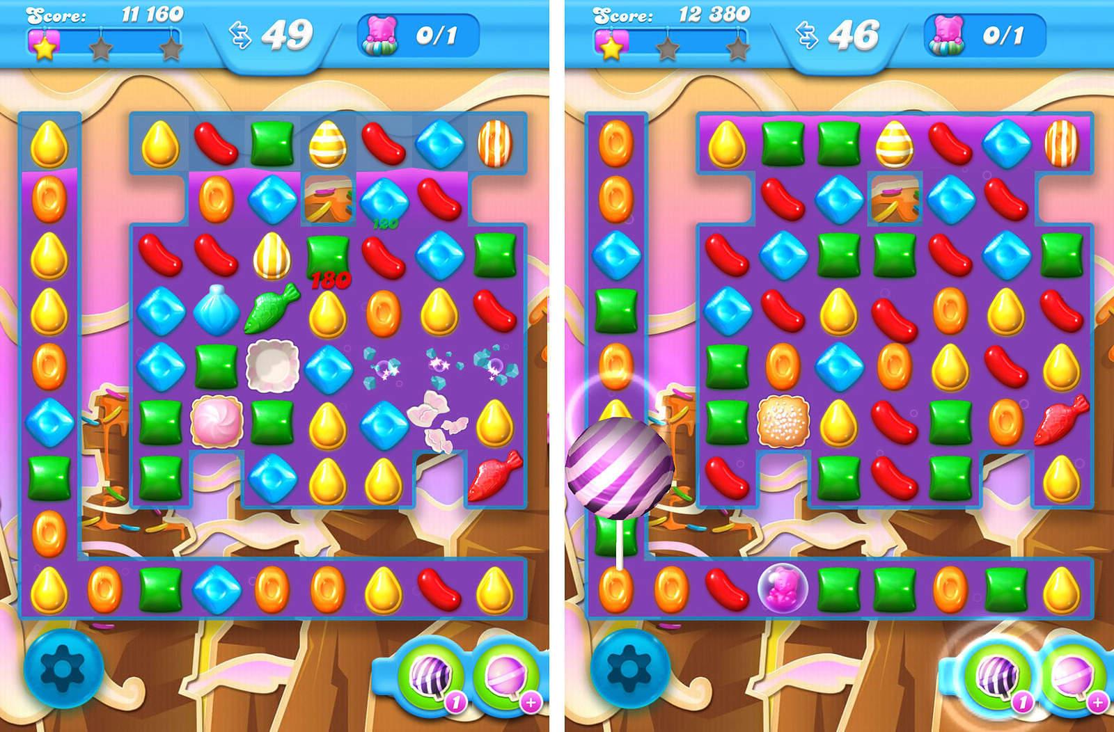 Candy Crush Soda Livello 72 Sezione 3