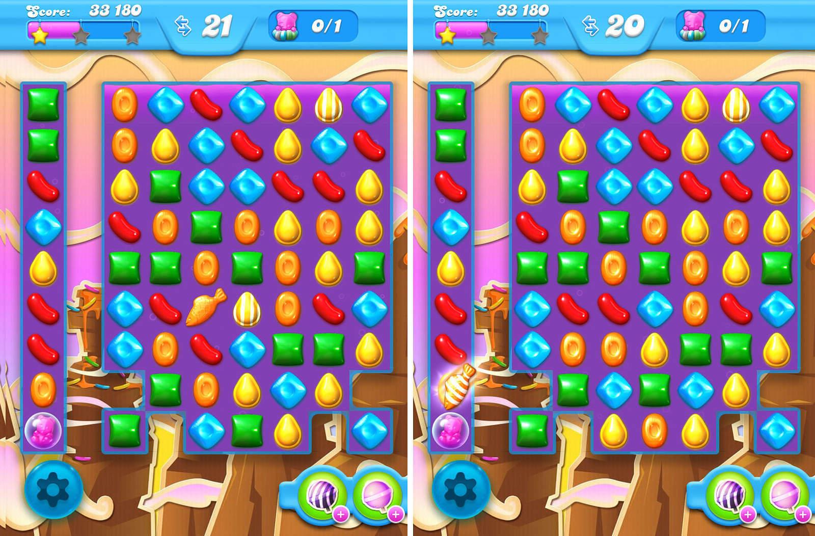 Candy Crush Soda Livello 72 Sezione 4