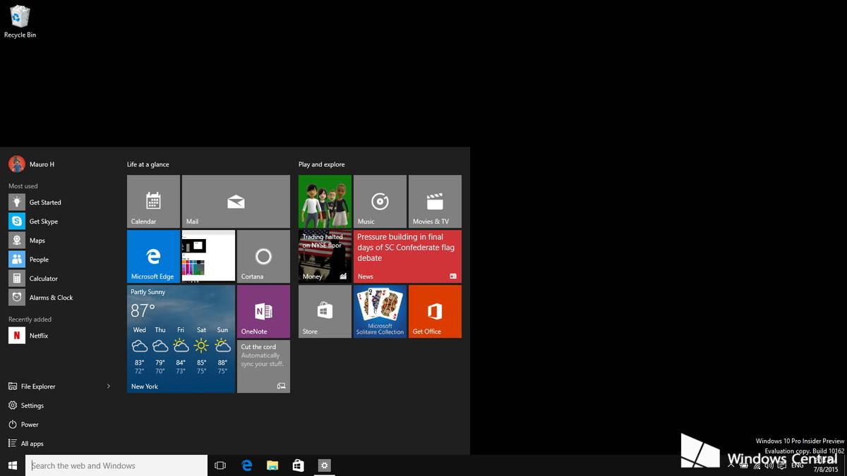Aumentare durata della batteria su Windows 10 Sfondi