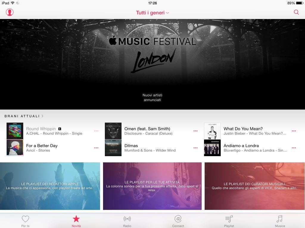 Liberare spazio su iPhone Musica