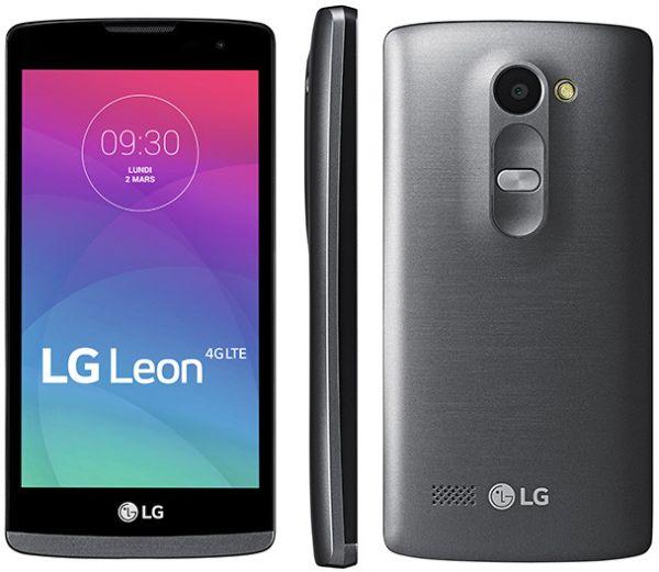 Smartphone Android a meno di 100 euro LG Leon LTE