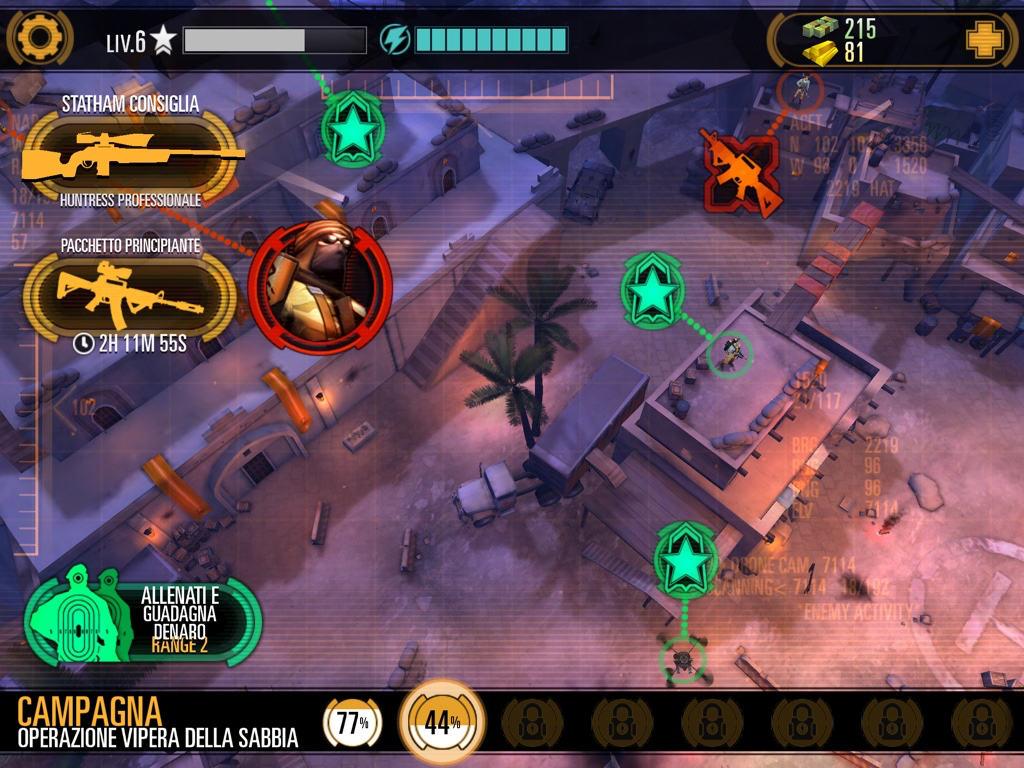Trucchi Sniper X Missioni