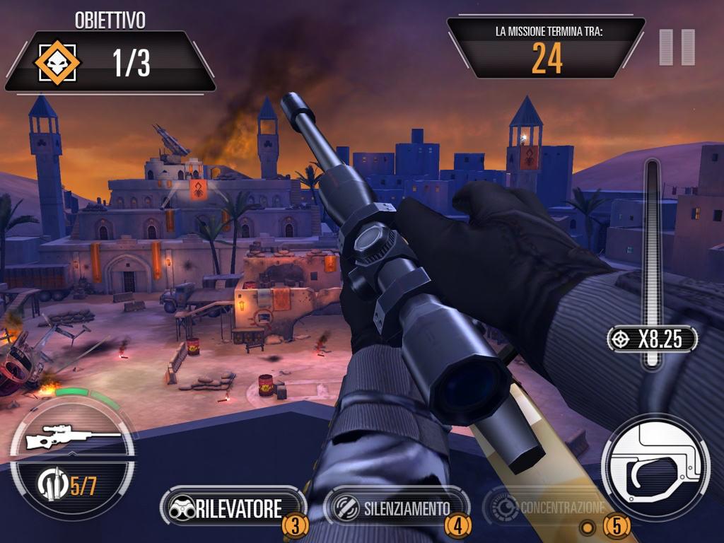 Trucchi Sniper X Ricarica
