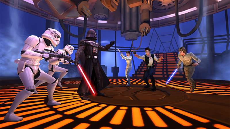 Star Wars Galaxy of Heroes per Android e iOS Screen