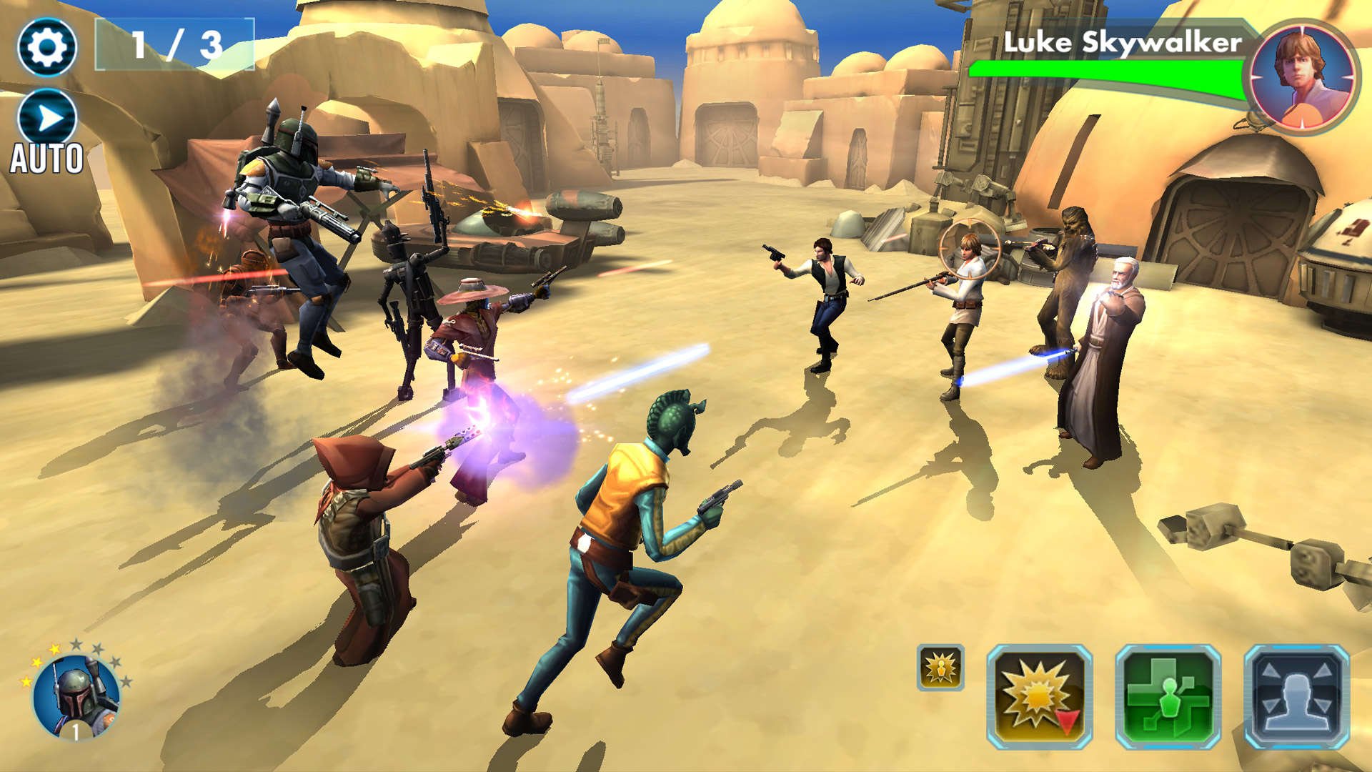 Recensione star wars galaxy of heroes
