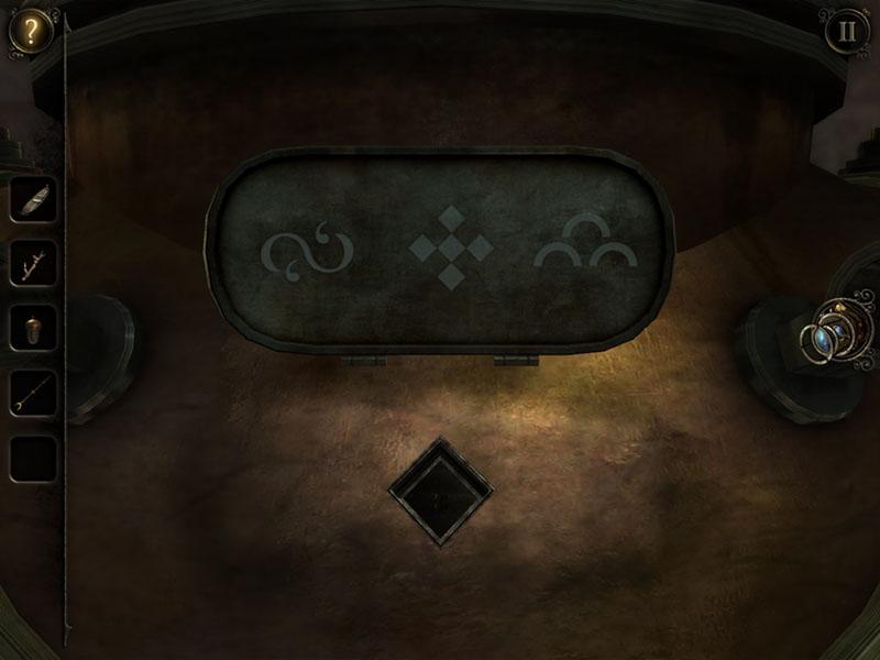 The Room Three Soluzione Capitolo 2 Targhetta Simboli