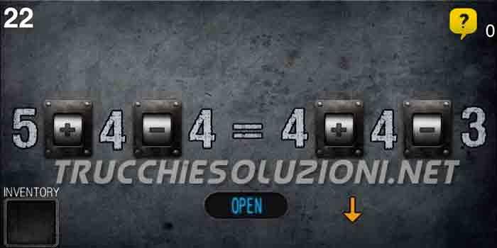 Soluzioni Can You Escape 25 Livello 22